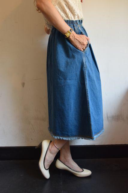 Kaonのフレアスカートで   ・ ・ ・_b0110586_19041743.jpg