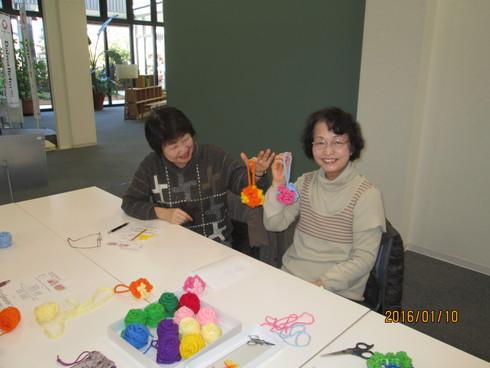 新春展示相談会と手編み教室_e0190287_1741494.jpg