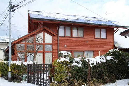 自宅の雪の太陽光_e0054299_12324364.jpg