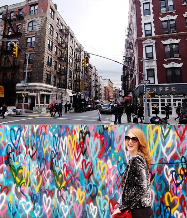 ハートいっぱいのNYの街角アート、「ラブ・ウォール」(Love Wall)by James Goldcrown_b0007805_23124580.jpg