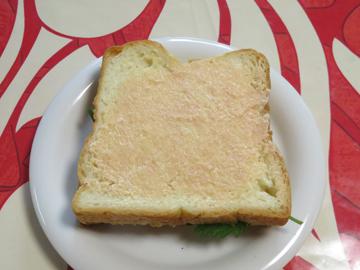 リプトンひらめき朝食 「赤富士パン」_a0150910_851685.jpg