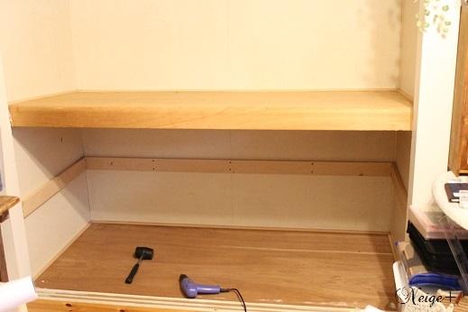 DIY押入れをセルフリノベーションでお洒落で使い勝手のいい収納に大変身!_f0023333_20335125.jpg