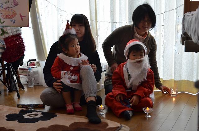2015年12月6日、Misakiちゃんちで、パレットクリスマスコンサート_e0188087_1816578.jpg