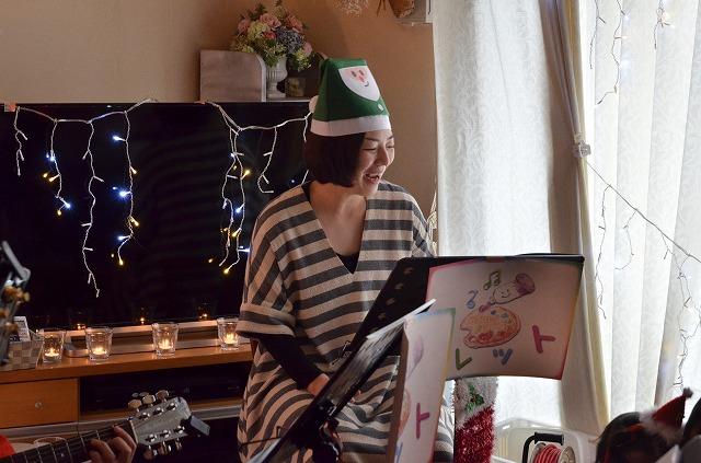 2015年12月6日、Misakiちゃんちで、パレットクリスマスコンサート_e0188087_18213621.jpg