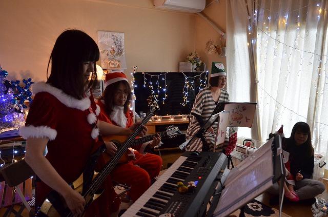 2015年12月6日、Misakiちゃんちで、パレットクリスマスコンサート_e0188087_18245795.jpg
