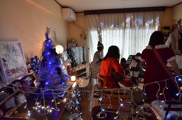 2015年12月6日、Misakiちゃんちで、パレットクリスマスコンサート_e0188087_18253010.jpg