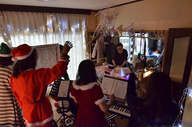 2015年12月6日、Misakiちゃんちで、パレットクリスマスコンサート_e0188087_1834191.jpg