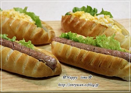 りんご酵母パン・ヴィエノワでホットドッグ弁当♪_f0348032_18144720.jpg