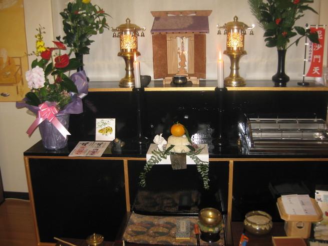 毘沙門さまとの出会い(59)お正月の参拝_c0348065_23380932.jpg