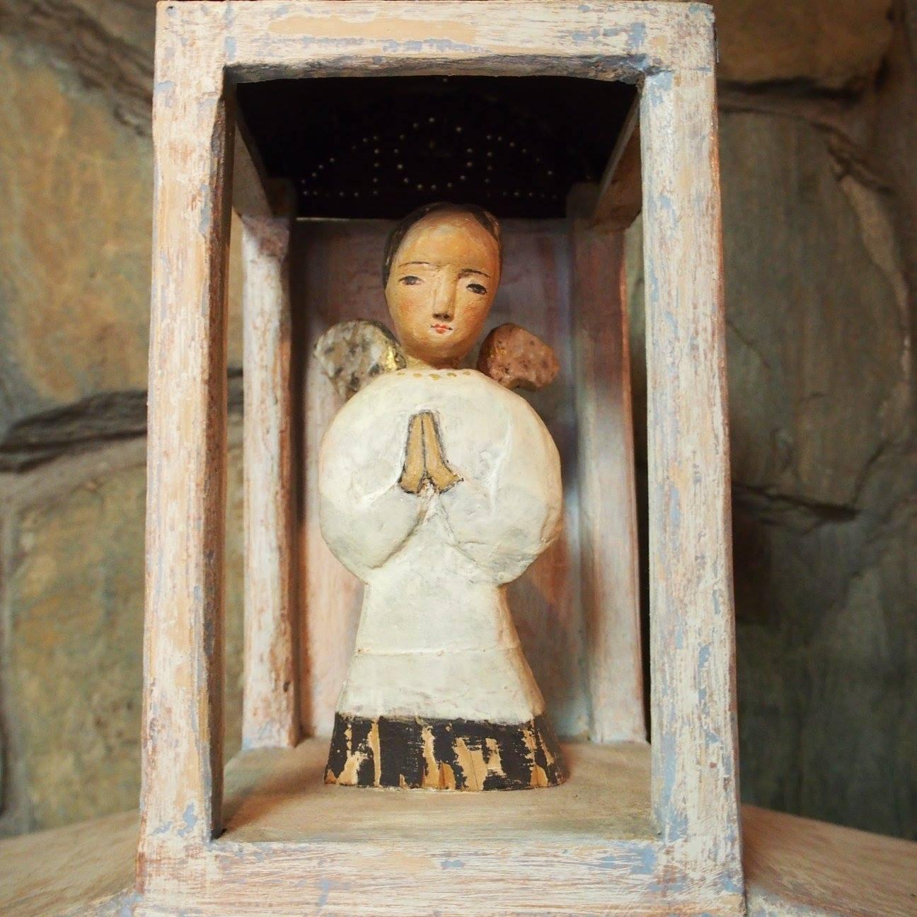 ~ 祈りの光 † Prière de Noël ~ 12/12~20 ☆ 展示風景 _c0203401_7511916.jpg