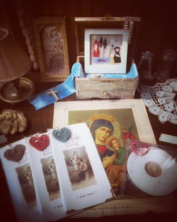 ~ 祈りの光 † Prière de Noël ~ 12/12~20 ☆ 展示風景 _c0203401_80932.jpg
