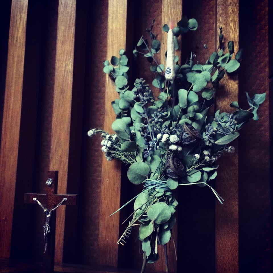 ~ 祈りの光 † Prière de Noël ~ 12/12~20 ☆ 展示風景 _c0203401_811081.jpg
