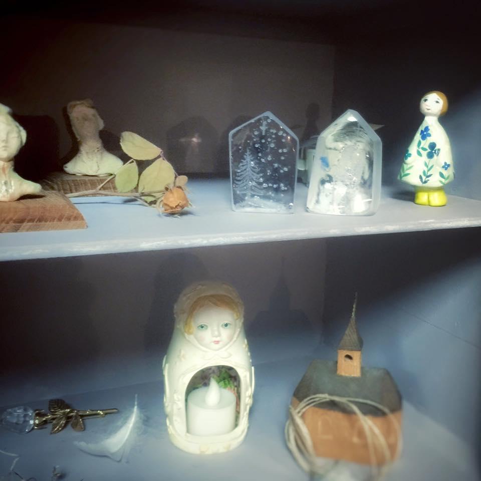 ~ 祈りの光 † Prière de Noël ~ 12/12~20 ☆ 展示風景 _c0203401_8751.jpg