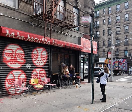 ニューヨーク、ノリータの風情たっぷりな街角風景_b0007805_10571750.jpg