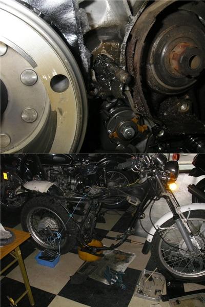 XL250  旧車 整備と他_e0218639_13131769.jpg