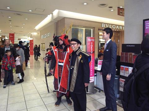 『レジェンド真田幸村展』渋谷東急本店、閉幕!〜つづき_b0145843_0175537.jpg