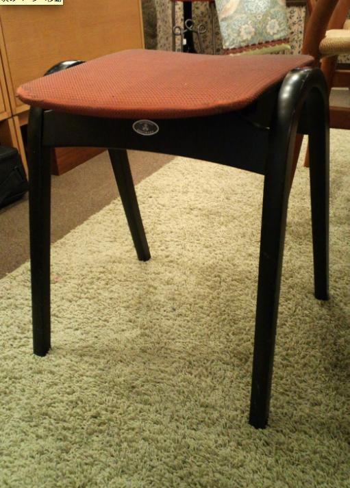 椅子の張替え ウィリアムモリス_c0157866_2154159.jpg