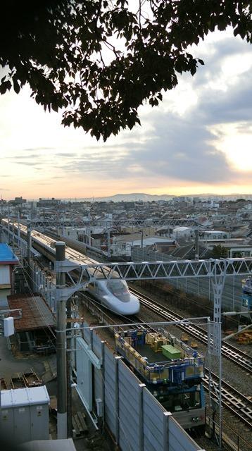 藤田八束の新幹線写真@朝日と新幹線、山陽新幹線_d0181492_23354924.jpg