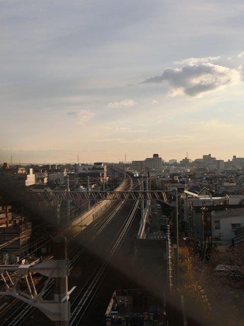 藤田八束の新幹線写真@朝日と新幹線、山陽新幹線_d0181492_23362349.jpg