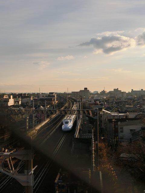 藤田八束の新幹線写真@朝日と新幹線、山陽新幹線_d0181492_23363711.jpg