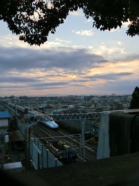 藤田八束の新幹線写真@朝日と新幹線、山陽新幹線_d0181492_23364943.jpg