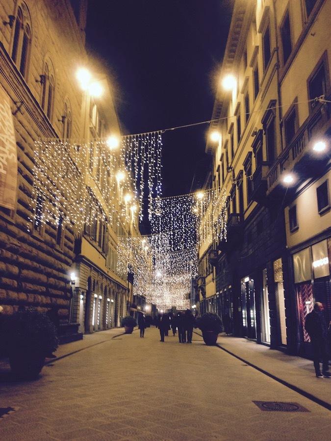 フィレンツェの街のキラキラと我が家の森の灯り_f0106597_18203752.jpg