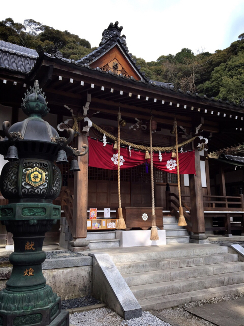 錦帯橋の白山比咩神社参拝☆_f0183846_19332925.jpg
