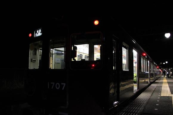 能勢電 妙見口駅にて 1700系。_d0202264_17293032.jpg