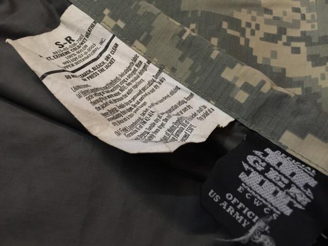 1月16日(土)大阪店モダンミリタリー入荷!#3 U.S.Army UCP編!Level7 Primaloft!(大阪アメ村店)_c0078587_14175963.jpg