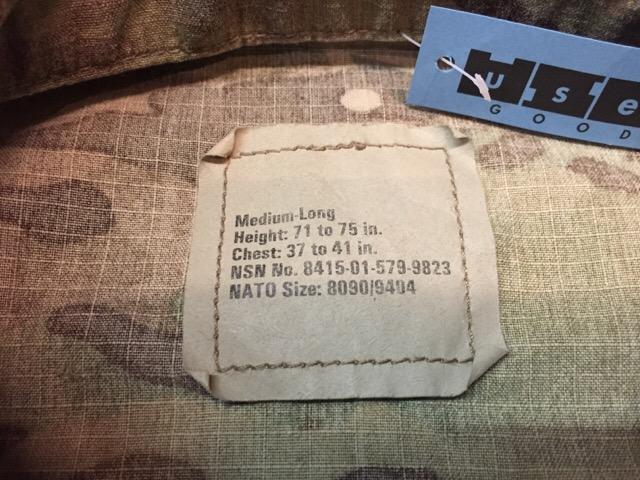 1月16日(土)大阪店モダンミリタリー入荷!#3 U.S.Army UCP編!Level7 Primaloft!(大阪アメ村店)_c0078587_1502941.jpg