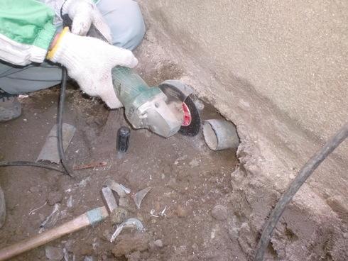 耐震工事に伴う給排水工事_e0190287_18455385.jpg