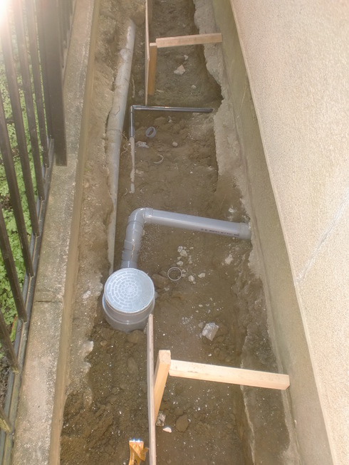 耐震工事に伴う給排水工事_e0190287_18483796.jpg