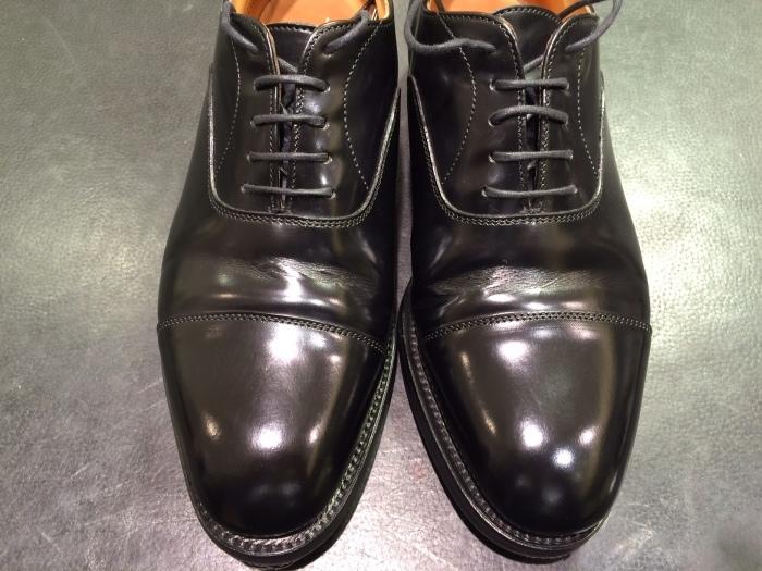 黒い靴は光沢が命 ガラスレザー編_b0226322_21000174.jpg