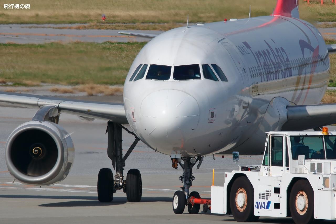 陽炎が強くなる前にプッシュバックを  トランスアジア航空(GE)_b0313338_20435391.jpg