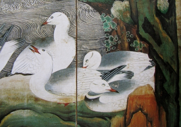しらとりは何羽いる * How many white birds are in this tanka?_c0345705_10173291.jpg