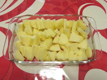 リプトンひらめき朝食 「アップルクランブルぽいやつ」_a0150910_163197.jpg