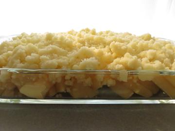 リプトンひらめき朝食 「アップルクランブルぽいやつ」_a0150910_1694524.jpg