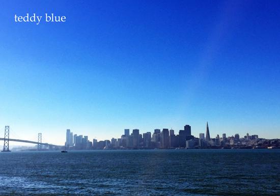 blue from San Francisco  ブルー フロム サンフランシスコ _e0253364_23263849.jpg