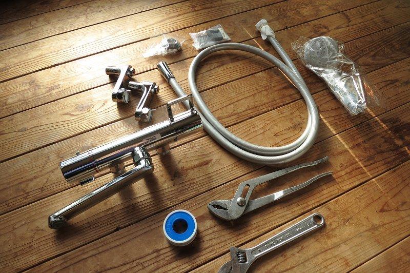 【DIY】お風呂のシャワー水栓を交換。_a0023397_10384952.jpg