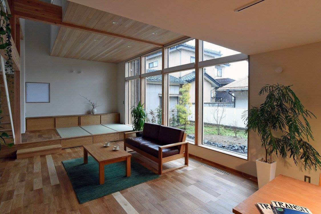 Q1.0住宅新潟信濃町:居間_e0054299_17223150.jpg