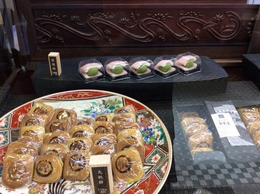 菓子処「一楽庵」リニューアルオープンいたしました。_c0256701_9534394.jpg