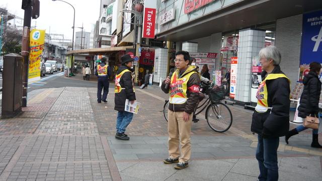 1月17日、岡山駅前で、無実の星野文昭さん再審と全証拠開示を訴え、署名を集めた_d0155415_20274293.jpg