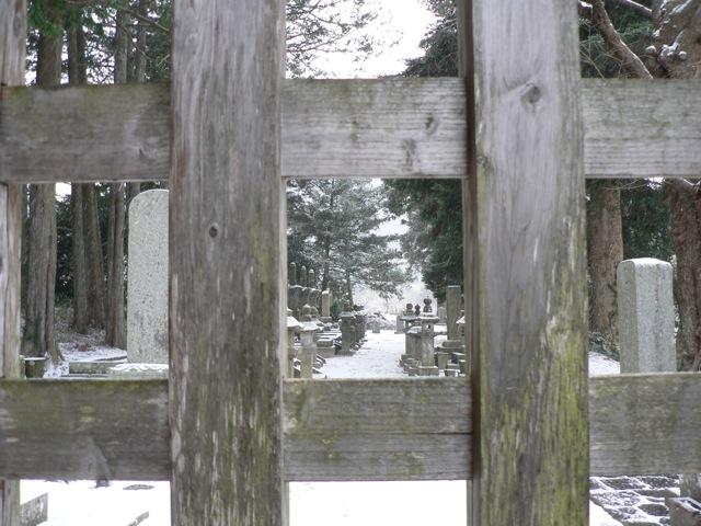 雪のご開帳_f0143119_20521915.jpg