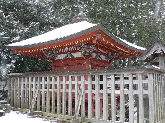 雪のご開帳_f0143119_20542638.jpg