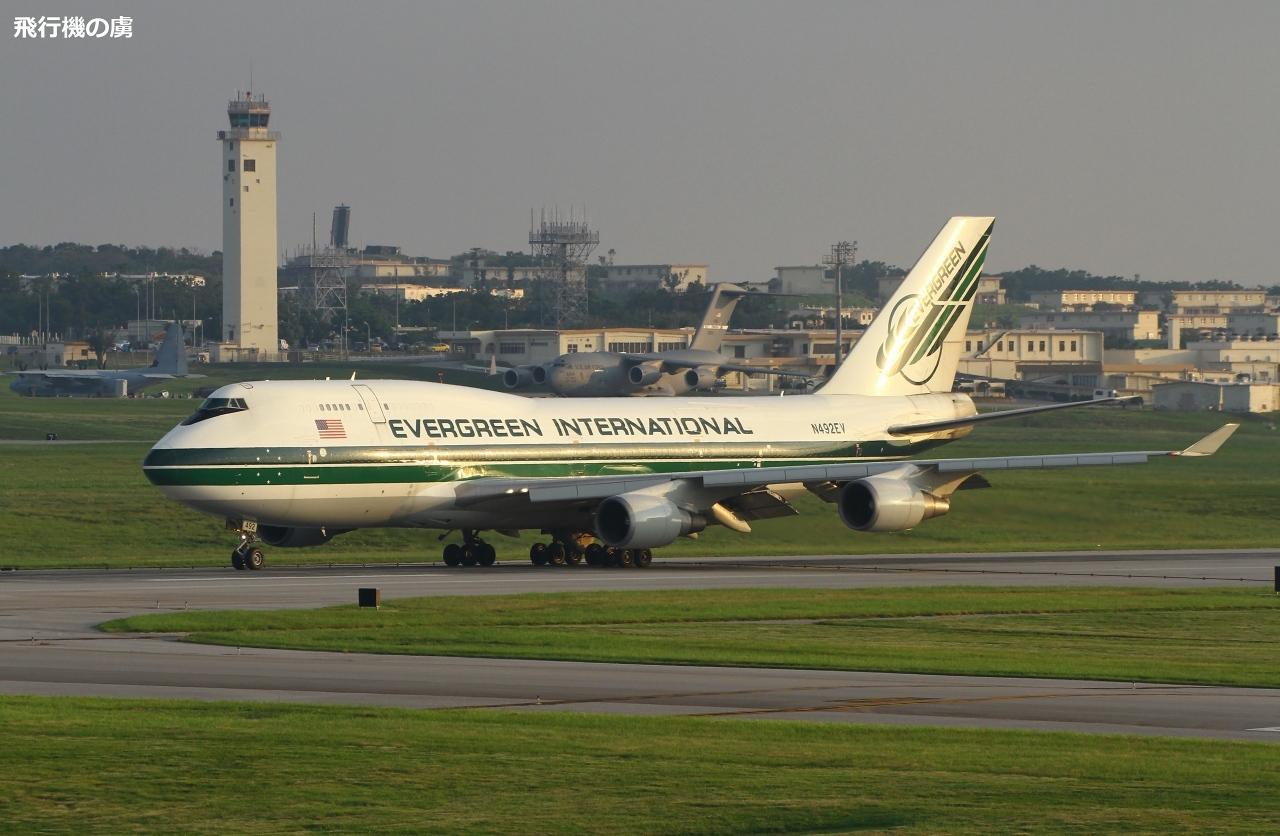 747のグローブマスター添え エバーグリーン航空(EIA)_b0313338_21071295.jpg