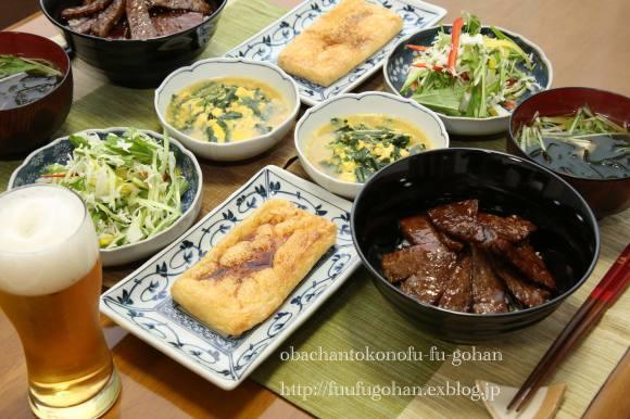 いつかの焼肉丼御膳_c0326245_11362631.jpg