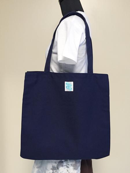 イチョウ柄のバッグ ポケット付 (1748)_e0104046_20262533.jpg