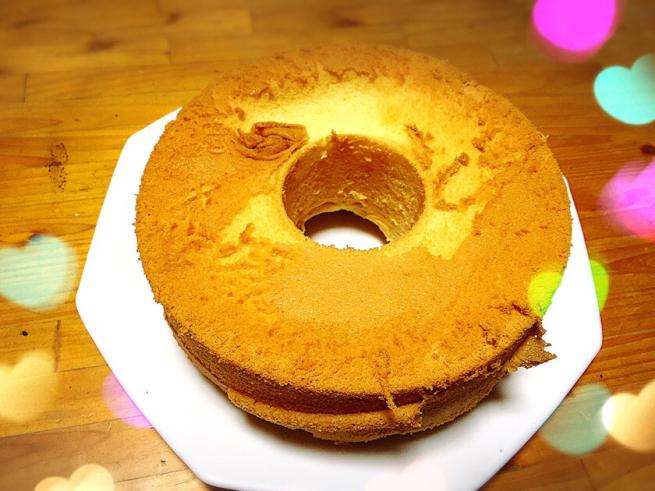初めてのシフォンケーキ作り☆_f0183846_15020735.jpg