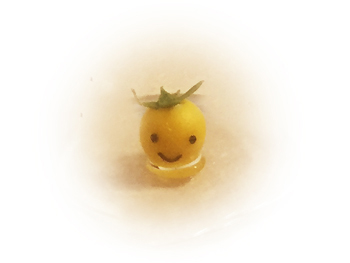 ブラブラポチ09_黄色いトマト_f0195352_17584080.jpg