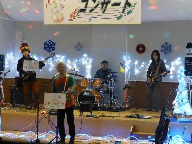 12月18日、久山療育園、東医療センターで、クリスマスライブでした♪_e0188087_16391299.jpg